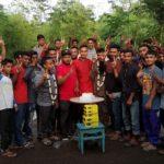 জেলা ছাত্রলীগ নেতা তানভীর পিয়াস সংবর্ধিত, এলাকাবাসী উচ্ছাসিত