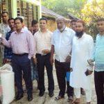 জগন্নাথপুরে কৃষকদের বাড়ি বাড়ি গিয়ে ধান কিনলেন ইউএনও