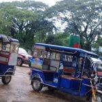 জগন্নাথপুরে এবার টমটমের দখলে কেন্দ্রীয় শহীদ মিনার